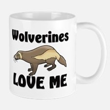 Wolverines Loves Me Mug