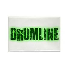 Drumline Green Rectangle Magnet