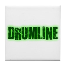 Drumline Green Tile Coaster