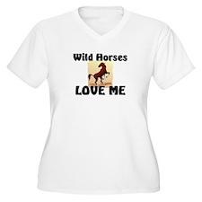 Wild Horses Loves Me T-Shirt