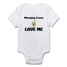 Whooping Cranes Love Me Infant Bodysuit