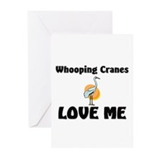 Whooping Cranes Love Me Greeting Cards (Pk of 10)