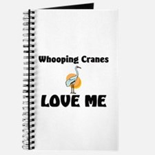 Whooping Cranes Love Me Journal