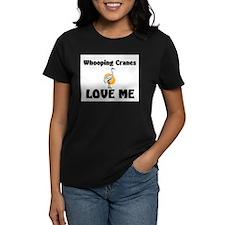 Whooping Cranes Love Me Tee