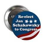 Re-elect Schakowsky to Congress Button