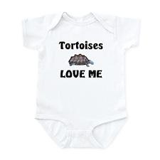 Tortoises Love Me Onesie