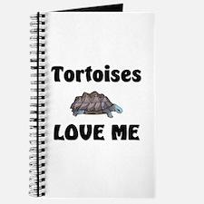 Tortoises Love Me Journal