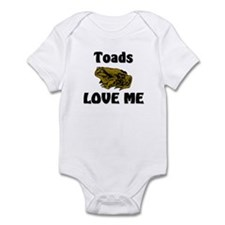 Toads Love Me Infant Bodysuit