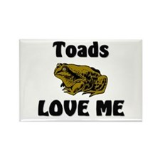 Toads Love Me Rectangle Magnet