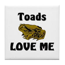 Toads Love Me Tile Coaster