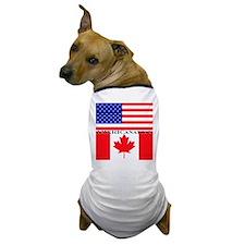 AMERICanadian Dog T-Shirt