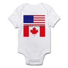AMERICanadian Infant Bodysuit