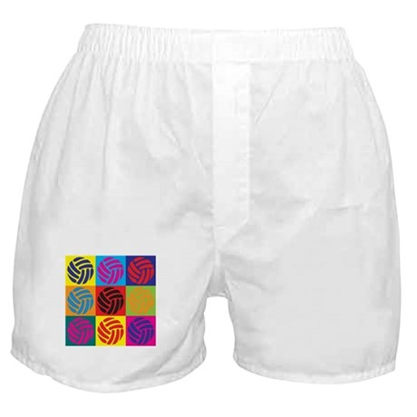 Volleyball Pop Art Boxer Shorts