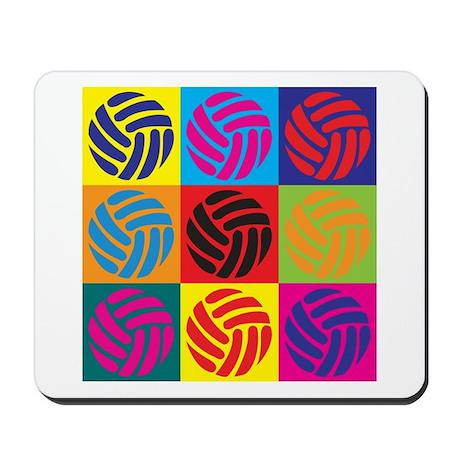 Volleyball Pop Art Mousepad
