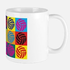 Volleyball Pop Art Mug