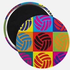 Volleyball Pop Art Magnet