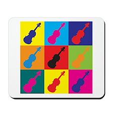 Violin Pop Art Mousepad