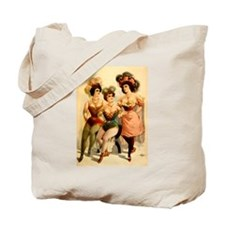 Burlesque Girls 1899 Tote Bag