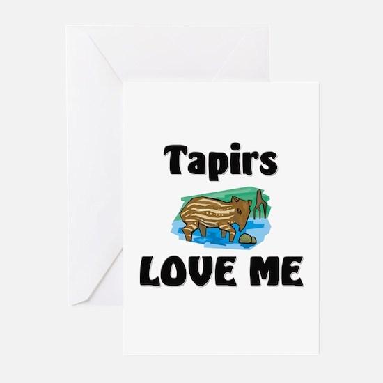 Tapirs Love Me Greeting Cards (Pk of 10)