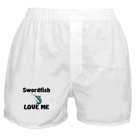 Swordfish Love Me Boxer Shorts
