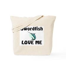 Swordfish Love Me Tote Bag
