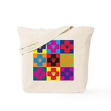 Veterinary Medicine Pop Art Tote Bag