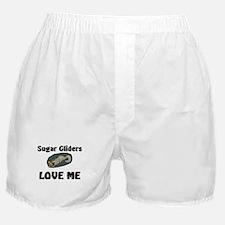 Sugar Gliders Love Me Boxer Shorts