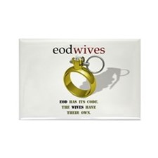 EOD WIVES Rectangle Magnet