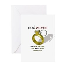 EOD WIVES Greeting Card