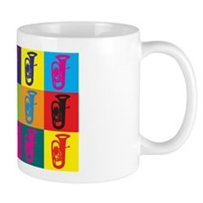Tuba Pop Art Mug