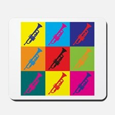 Trumpet Pop Art Mousepad