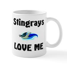 Stingrays Love Me Mug