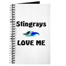 Stingrays Love Me Journal