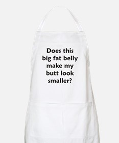 Does this belly make my butt BBQ Apron