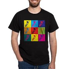 Trombone Pop Art T-Shirt