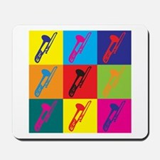 Trombone Pop Art Mousepad