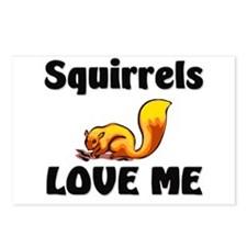 Squirrels Love Me Postcards (Package of 8)