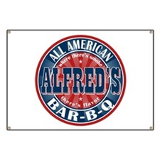 Alfred's All American Bar-b-q Banner