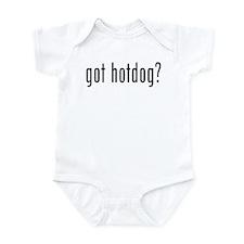 got hotdog? Infant Bodysuit
