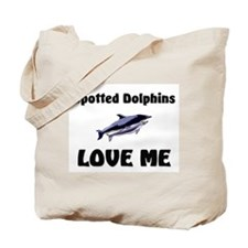Spotted Dolphins Love Me Tote Bag