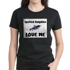 Spotted Dolphins Love Me Women's Dark T-Shirt