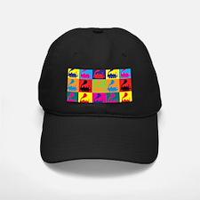 Trains Pop Art Baseball Hat