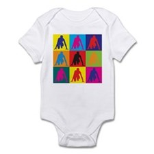 Track Pop Art Infant Bodysuit