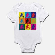 Track Pop Art Infant Bodysuit