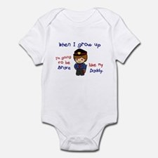 Brave Like My Daddy 1 (Police Officer) Onesie