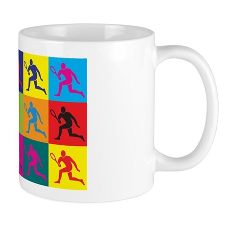 Tennis Pop Art Mug
