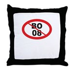 NO BO 08 Throw Pillow