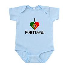 I Love Portugal Infant Creeper