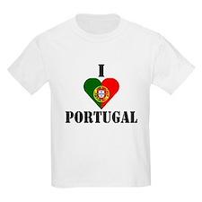 I Love Portugal Kids T-Shirt