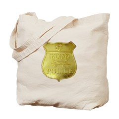 U S Indian Police Tote Bag